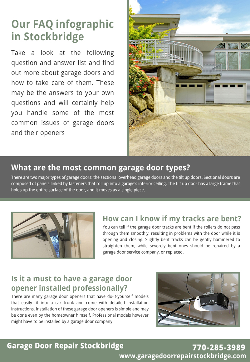 Garage Door Repair Stockbridge Infographic